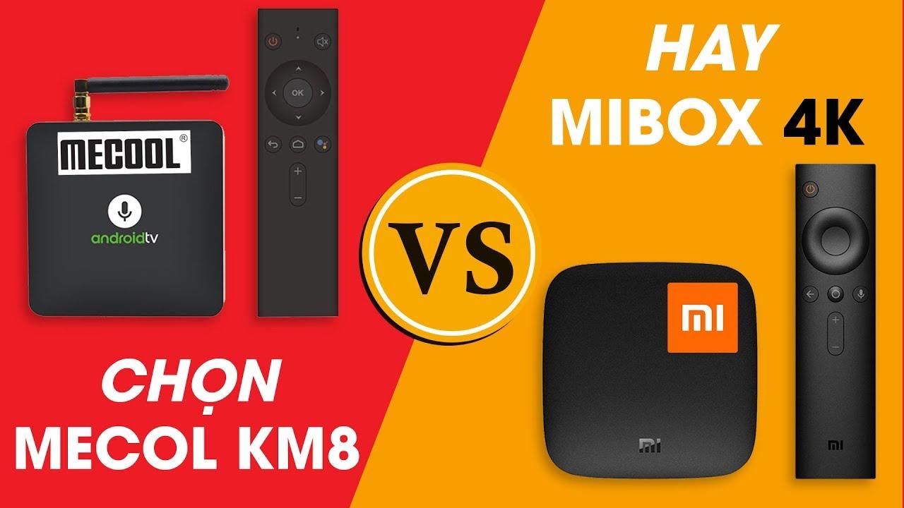 MECOOL KM8 ATV 8 0 Google Certificate, S905X 2GB/16GB, Voice Remote tìm  kiếm bằng giọng nói