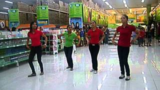 puregold guiguinto's aling puring song and whine up.AVI