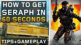 How to Unlock Seraph in 1 minute! (Black Ops 4: Blackout)