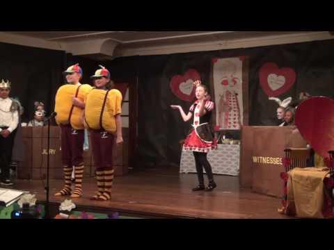 The Trials Of Alice In Wonderland - St James 2016