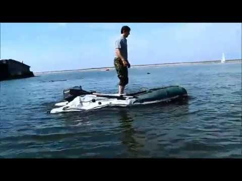 Тент на лодку ПВХ своими руками (носовой, ходовой) 97