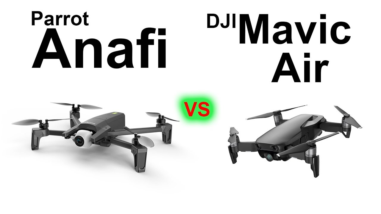 PARROT Anafi vs DJI Mavic Air HANDS ON Full Comparison
