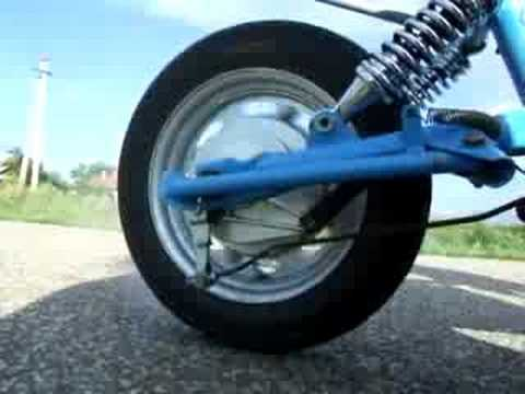 1200w Electric Scooter Burnout