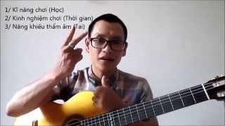 Các bước HỌC GUITAR đêm hát CHO người Tự học (GPT school)