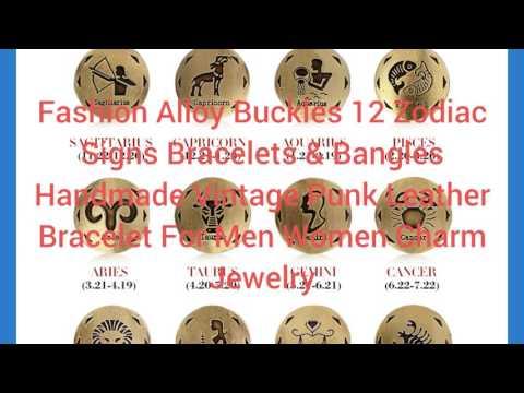 Buy Designer Jewellery Online-Fashion Alloy Buckles 12 Zodiac Signs