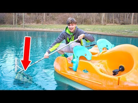 FINDING BURIED TREASURE UNDERWATER!!