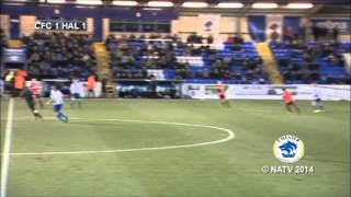 Chester FC 2 FC Halifax Town 1 - The Goals