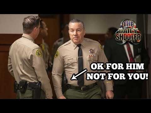 Los Angeles County Sheriff Doesn't Trust You Is Anti 2A