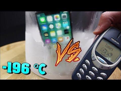 NOKIA 3310 vs iPhone X — GONNA PUT IT IN...