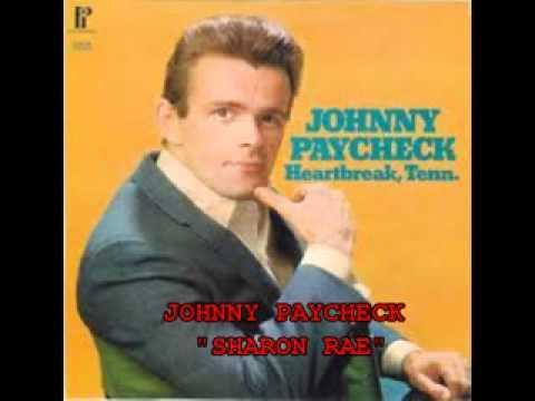 "JOHNNY PAYCHECK - ""SHARON RAE."""