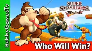 Smash Brother Wii Part 1 HobbyGamesTV