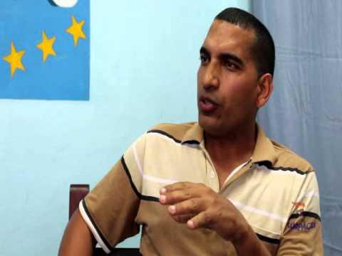 José D. Ferrer entrevista a activistas de UNPACU en Sagua de Tánamo, Holguín