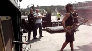 The Rolling Stones Crew Soundcheck