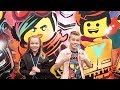 Kids FIRST Red Carpet Premiere at The LEGO Movie 2 and LEGO Space Hollywood Tour!