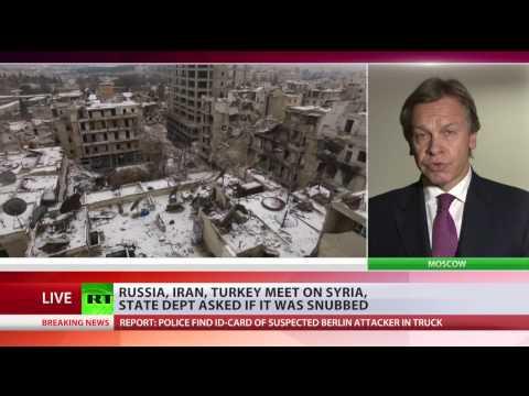 'Obama administration lost its game in Syria' – Russian senator Pushkov