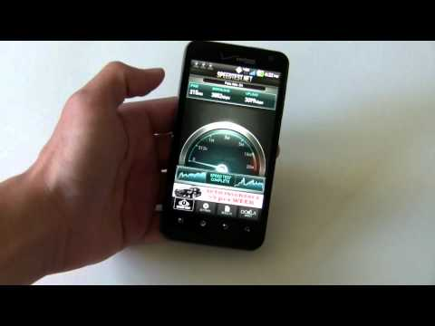LG Revolution with Verizon 4G LTE software tour
