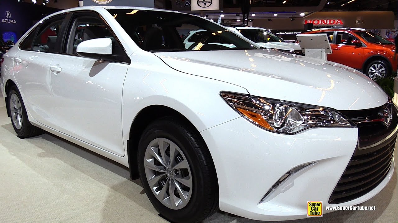 2015 Toyota Camry LE   Exterior And Interior Walkaround   2015 Montreal  Auto Show