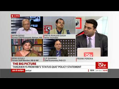 The Big Picture - Takeaways from RBI's 'Status Quo' Policy Statement