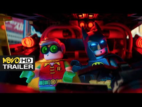 The Lego Batman Movie - Will Arnett, Ralph Fiennes 2016 [HD]