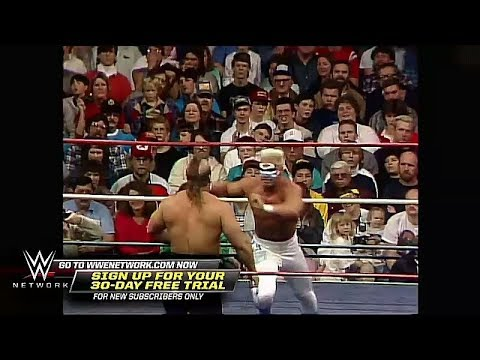 The Road Warriors vs Sting & dusty Rhodes -nwa world Tag Team Title match