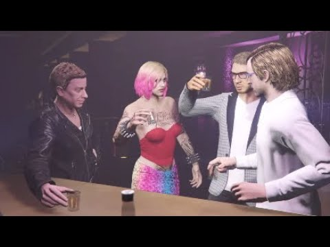 GTA Online: After Hours - Harley Quinn Opens her Night club