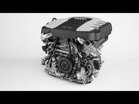 ► Audi V8 4.2 TDI engine