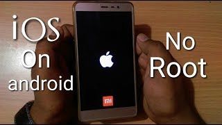 Make any android to apple ios |no root| 2 minute process| must watch