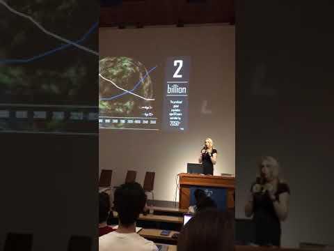 Liz Parrish Keynote at DAYS.exchange Blockchain Oxford Conference