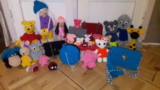 Вязаные игрушки,сумки,брелки