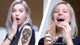 Tattoo Geständnis an meine Eltern (Telefon+ Real Life)