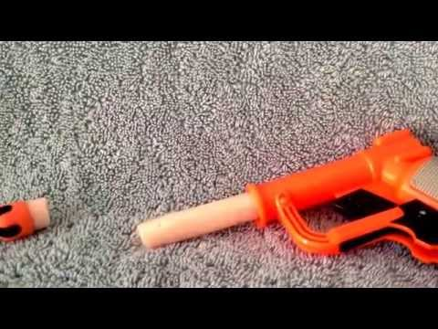 How to make a BB gun out of a Nerf gun