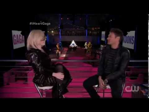 Lady Gaga - Interview with Ryan Seacrest (11/10/2013) [Full]