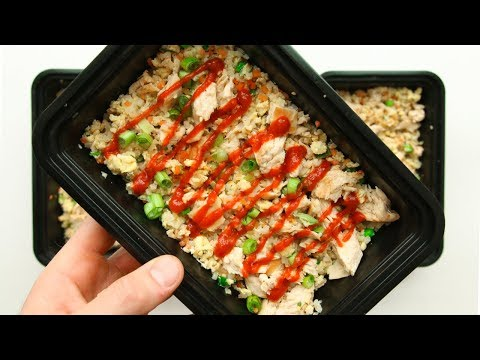 How To Meal Prep Chicken Fried Rice For The Week (Low Carb Recipe)