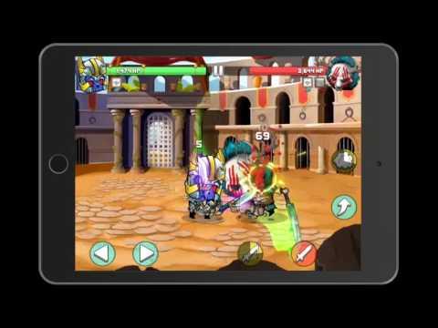 Игра Tiny Gladiators геймплей (gameplay) HD качество