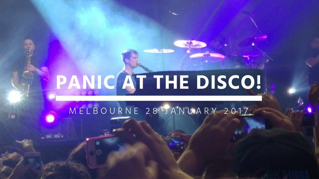 Panic at the disco tour dates in Melbourne