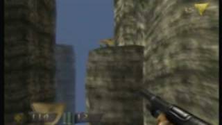 Turok Dinosaur Hunter N64 Playthrough Level 1 The Hub Ruins Part 1