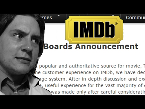 IMDb Censorship? Discussion Boards Disabled