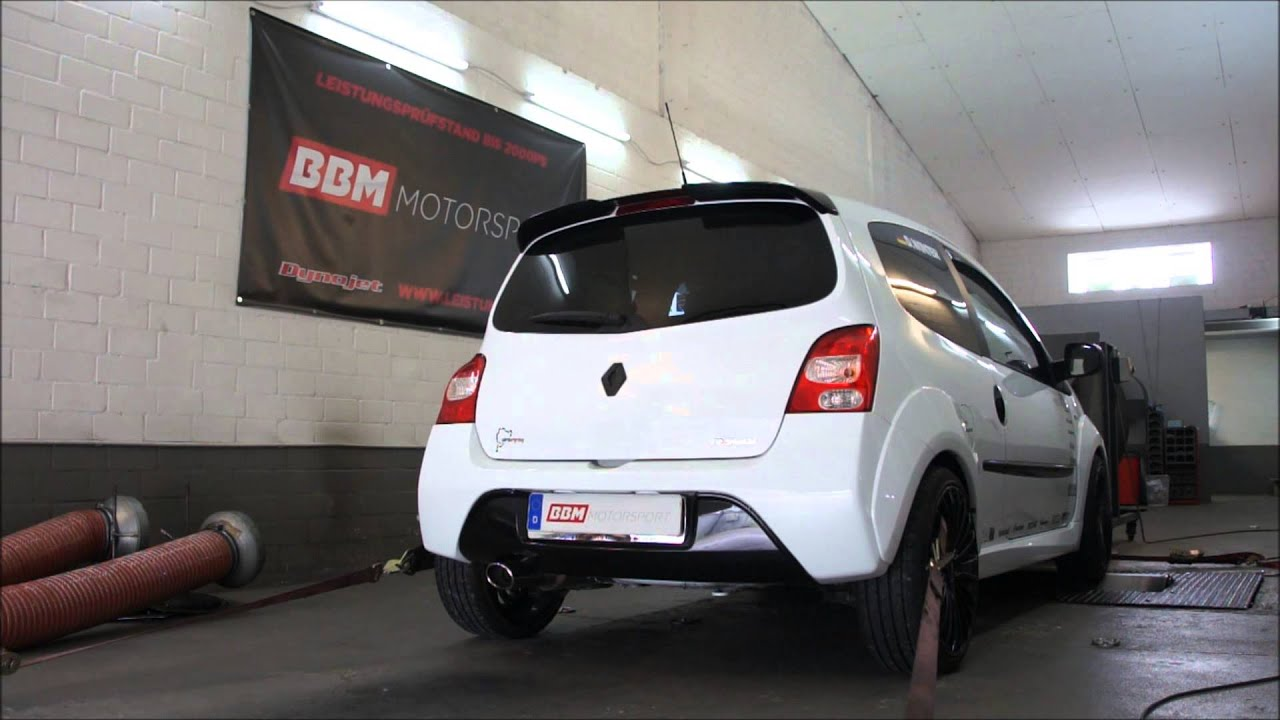 renault twingo rs supersprint exhaust on bbm motorsport dyno youtube. Black Bedroom Furniture Sets. Home Design Ideas