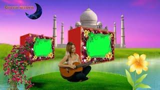 Wedding video( cand ke par calo )Green screen background effects