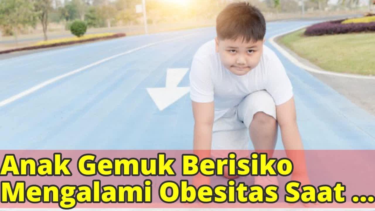 Gemuk sejak Anak-Anak Berisiko Diabetes saat Dewasa