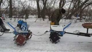 МОТОБЛОК   Зима 2009