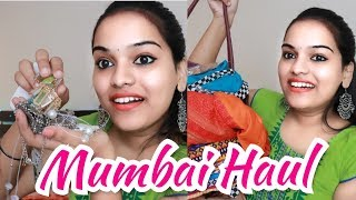 MY MUMBAI STREET SHOPPING EXPERIENCE!! + HAUL | Go Glam with Keerthy