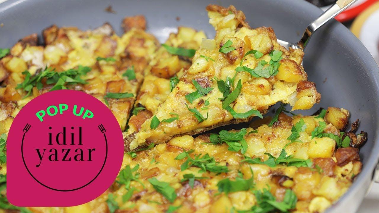 Patatesli Omlet Yapımı | Pop Up Pratik Yemek Tarifleri