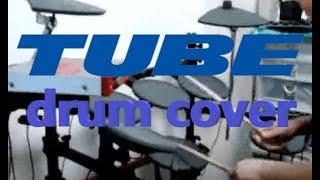 【RyoSuke】TUBE 浪漫の夏 夢のフロリダ 夏を待ちきれなくて drum cover 叩いてみた