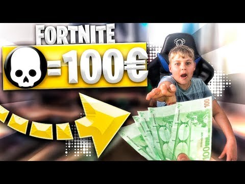 LE DOY 100€ a MI HERMANO por KILL en FORTNITE! *ME ARRUINO*