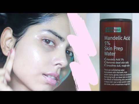 BY WISHTREND Mandelic Acid 5% Skin Prep Water Review | Chemical Exfoliation | AHA TONER