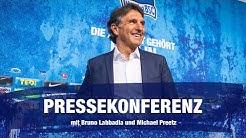 Re-Live | Pressekonferenz mit Bruno Labbadia und Michael Preetz