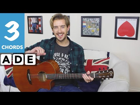 Easy Guitar Songs - 'Spirit In The Sky' - Play TEN songs with E A & D Chords Series