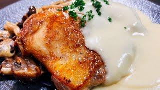 鶏もも肉と和風チーズソース|こっタソの自由気ままに【Kottaso Recipe】さんのレシピ書き起こし