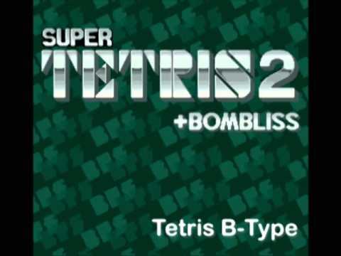 Super Tetris 2 + Bombliss Music - Tetris C-Type
